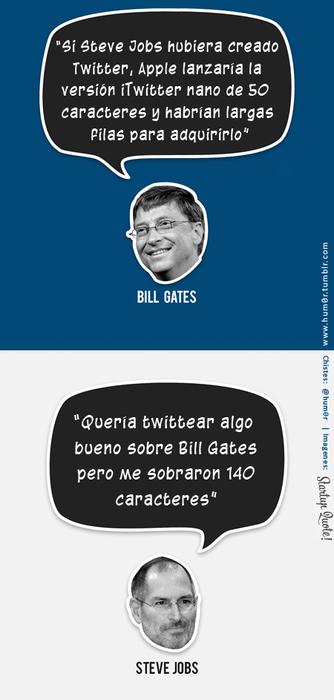 steve jobs twitter bill gates � sin sentydo
